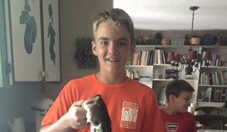 A Florida family is reeling after a father accidentally shot and killed his 14-year-old son, Stephen Brumby, at a Sarasota gun range Sunday afternoon. (GoFundMe/@StephenBrumby)