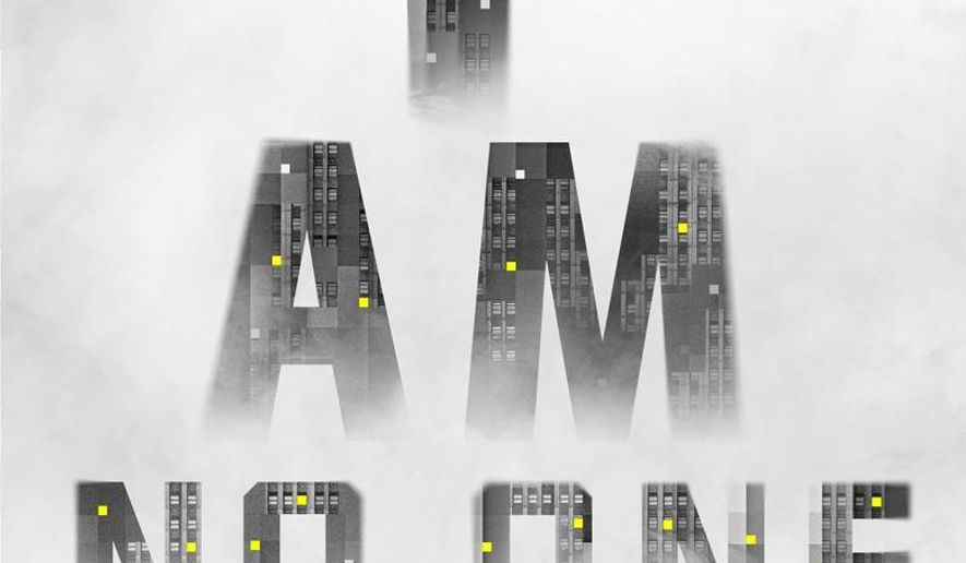 "This book cover image released by Tim Duggan Books shows ""I Am No One,"" by Patrick Flanery. (Tim Duggan Books via AP)"
