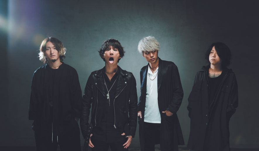 Taka (second from left) fronts One OK Rock.  (Kazuaki Seki)