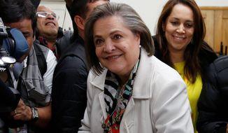 Clara Lopez (Associated Press/File)