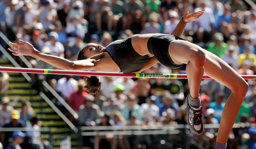 Vashti Cunningham, an 18-year-old high jumper, will be the youngest U.S. track and field athlete to qualify for the Olympics since long jumper Carol Lewis in 1980. (Associated Press)