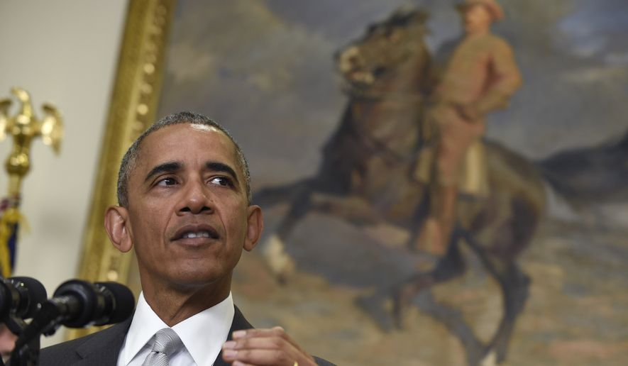 """The security situation in Afghanistan remains precarious,"" President Obama said Wednesday at the White House. ""The Taliban remains a threat. They've gained ground in some cases."" (Associated Press)"