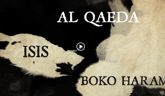 A screen shot of the non-banned video from CounterJihad.