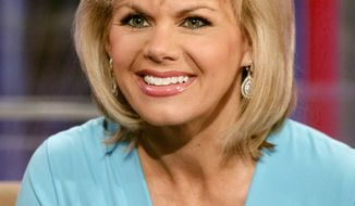 "FILE - In this May 18, 2010 file photo, TV personality Gretchen Carlson appears on the set of ""Fox & friends"" in New York. Carlson, the former Fox News Channel anchor, is suing network chief executive Roger Ailes, claiming she was fired after refusing his sexual advances. Carlson, 50, spent 11 years at Fox. She was Miss America in 1989. (AP Photo/Richard Drew, File)"