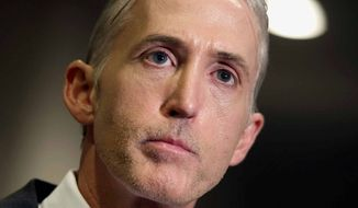 Trey Gowdy (Associated Press) **FILE**