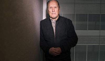 "Robert Duvall was born in San Diego, California, the son of Mildred Virginia, an amateur actress, and William Howard Duvall, a Virginia-born U.S. Navy admiral. He grew up primarily in Annapolis, Maryland, site of the United States Naval Academy. He recalled: ""I was a Navy brat. My father started at the Academy when he was 16, made captain at 39 and retired as a rear admiral."" He attended Severn School in Severna Park, Maryland, and The Principia in St. Louis, Missouri. He graduated, in 1953, from Principia College in Elsah, Illinois. Duvall served in the United States Army for a brief period shortly after the Korean War (from August 19, 1953, to August 20, 1954) leaving the Army as Private First Class. (Photo by Casey Curry/Invision/AP)"