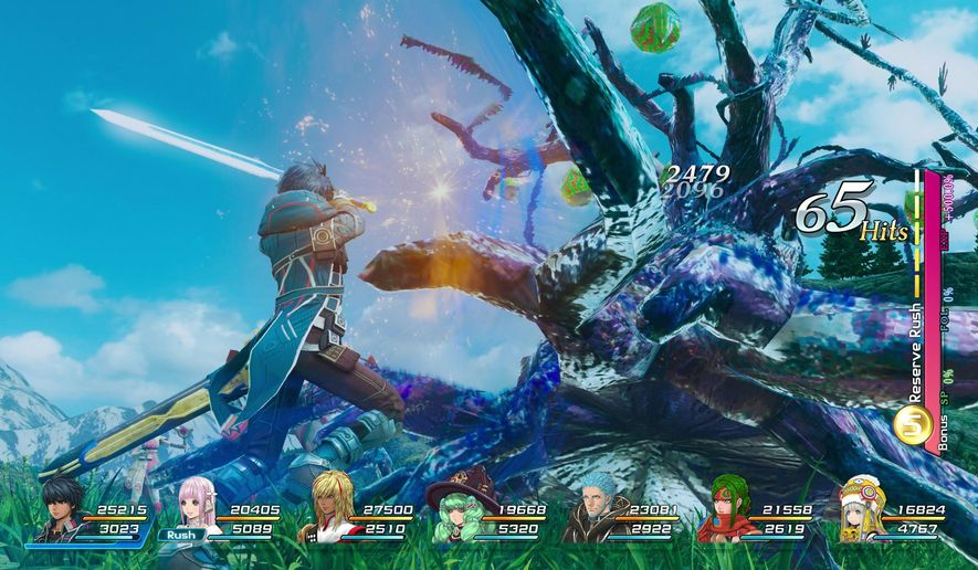 "This video game image released by Square Enix shows a scene from, ""Star Ocean: Integrity and Faithlessness."" (Square Enix via AP)"