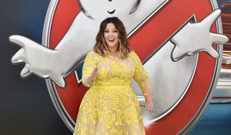"Melissa McCarthy arrives at the Los Angeles premiere of ""Ghostbusters"" at the TCL Chinese Theatre on Saturday, July 9, 2016. (Photo by Jordan Strauss/Invision/AP)"