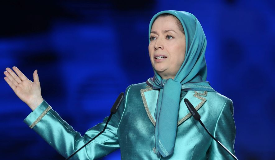 "MEK leader Maryam Rajavi called for a ""firm European policy which necessarily requires lending support to the Iranian people's resistance [in order] to establish democracy and popular sovereignty"" in Iran."