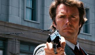 "Inspector Harold Francis ""Dirty Harry"" Callahan is a fictional character in the Dirty Harry film series, encompassing Dirty Harry (1971), Magnum Force (1973), The Enforcer (1976), Sudden Impact(1983) and The Dead Pool (1988). Callahan is portrayed by Clint Eastwood in each movie."