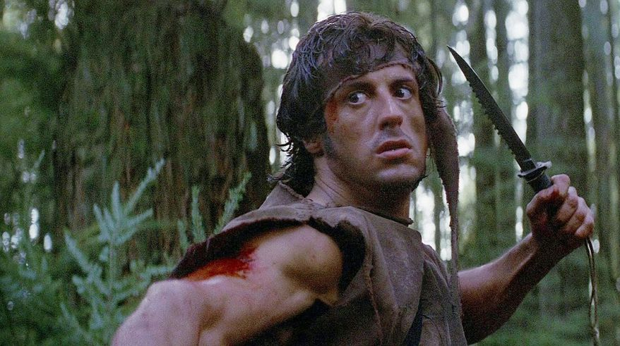 """John Rambo is a fictional character in the Rambo saga. He first appeared in the 1972 novel First Blood by David Morrell, but later became more famous as the protagonist of the film series, in which he was played by Sylvester Stallone. The portrayal of the character earned Stallone widespread acclaim and recognition. The character was nominated for American Film Institute's list 100 Years…100 Heroes and Villains. The term """"Rambo"""" is used commonly to describe a person who is reckless, disregards orders, uses violence to solve problems, enters dangerous situations alone, and is exceptionally tough and aggressive"""
