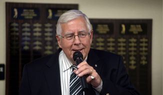 Senate Budget Committee Chairman Mike Enzi, Wyoming Republican, hopes to put an end to the last-minute deadline showdowns that have plagued Capitol Hill by forcing the Senate to debate spending bills soon after the annual budget is finished. (Associated Press)