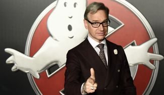 "Paul Feig, writer-director of ""Ghostbusters,"" poses during the Sony Pictures Entertainment presentation at CinemaCon 2016 in Las Vegas on April 12, 2016. The film will be released nationwide on Friday, July 15.  (Photo by Chris Pizzello/Invision/AP) ** FILE **"