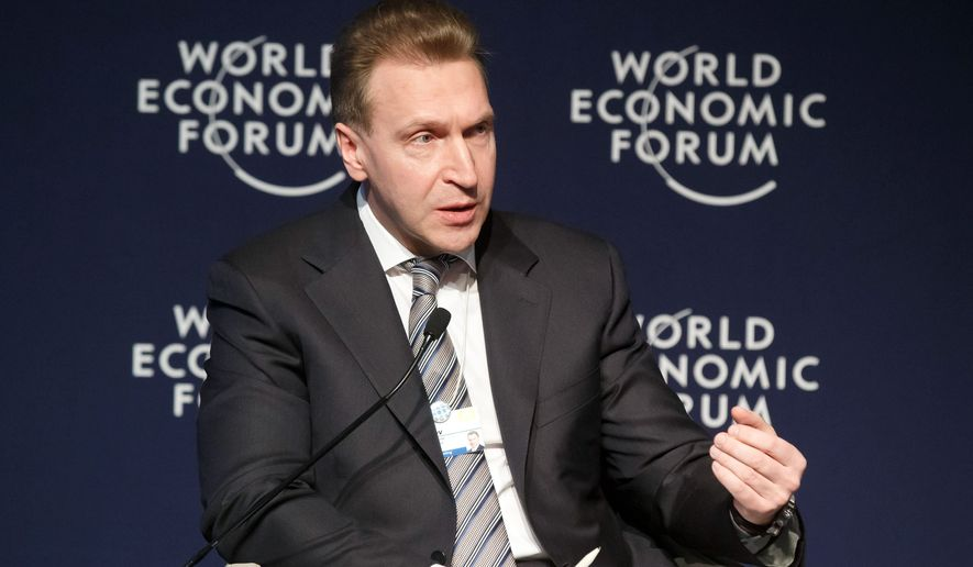 Russians are furious at First Deputy Prime Minister of Russia Igor Shuvalov after charges that public funds had been misappropriated from Moscow's city budget to his personal properties for improvements. (Associated Press)