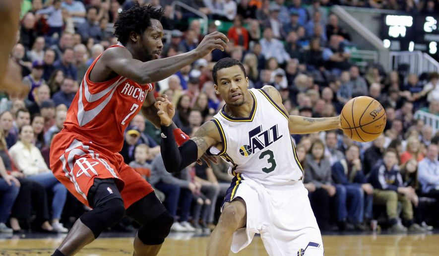 The Washington Wizards took a chance in bolstering their bench by signing former Utah Jazz guard Trey Burke (3) and former Orlando Magic forward Andrew Nicholson (44). Both players are former first round draft picks, but neither has been able to settle into their roles in the NBA making them upside gambles for the Wizards. (Associated Press)