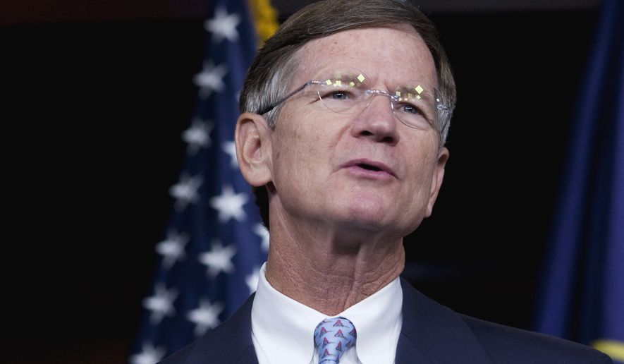 """""""The attorneys general have appointed themselves to decide what is valid and what is invalid regarding climate change,"""" House Science Committee Chairman Lamar Smith of Texas said at a press conference with other committee Republicans. """"The attorneys general are pursuing a political agenda at the expense of scientists' right to free speech."""" (Associated Press)"""