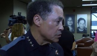"""El Paso Police Chief Greg Allen is defending comments he made last week calling the Black Lives Matter movement a """"radical hate group,"""" saying the rhetoric of the movement is """"directly and indirectly"""" influencing violence across the country and runs contrary to what Martin Luther King, Jr. stood for. KVIA)"""