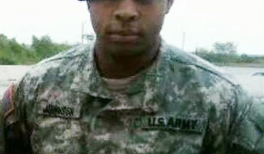 FILE - This undated file photo shows Micah Johnson, who killed five police officers in Dallas on Thursday, July 7, 2016, during a protest over two recent fatal police shootings of black men. Almost a week after the Dallas sniper attacks, it's still unclear how the gunman obtained an honorable discharge from the military even though Army officials sent him home from Afghanistan with a recommendation that he be thrown out of the armed forces. (Facebook via AP, File)