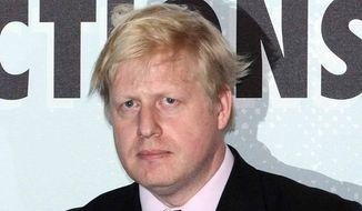 Boris Johnson. (Associated Press) ** FILE **