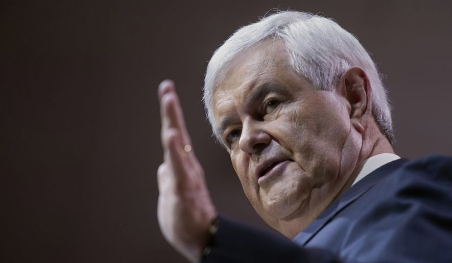 Former House Speaker Newt Gingrich (Associated Press)