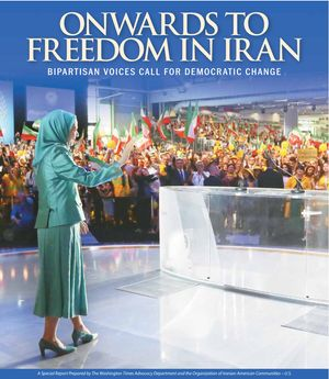 Download the Special Report prepared by The Washington Times Advocacy Department and the Organization of Iranian American Communities-U.S. available in the July 14, 2015, edition of The Washington Times. (2.2 MB)