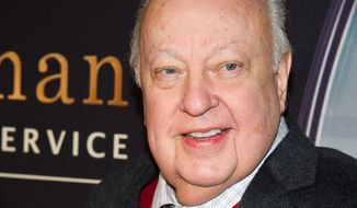 "In this Feb. 9, 2015, file photo, Roger Ailes attends a special screening of ""Kingsman: The Secret Service"" in New York. Fox News chief Ailes is seeking to move former anchor Gretchen Carlson's harassment case against him from a New Jersey court to a closed arbitration panel in New York. Ailes, in court papers filed Friday, July 15, 2016, said New Jersey made no sense as a jurisdiction. (Photo by Charles Sykes/Invision/AP, File)"