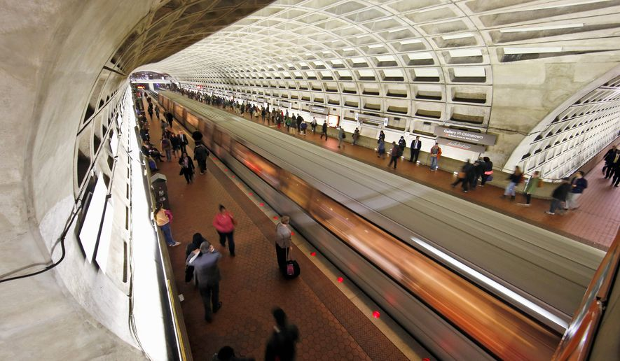 """The plan will affect every single commuter. Even repairs outside of the District will affect us,"" D.C. Mayor Muriel Bowser said Thursday at a press event at the Eastern Market Metro station, which will be affected by the second phase of the transit agency's ""SafeTrack"" plan. ""We believe Washington, D.C., will be affected by all 15 surges."" (Associated Press)"