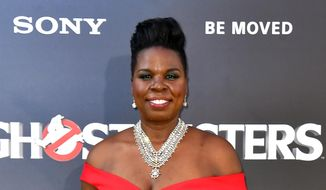 "Leslie Jones arrives at the Los Angeles premiere of ""Ghostbusters"" in this July 9, 2016, file photo. In a series of posts Monday, July 19, Jones said she had been pummeled with racist tweets. She said the messages were deeply hurtful and brought her to tears. (Photo by Jordan Strauss/Invision/AP, File)"