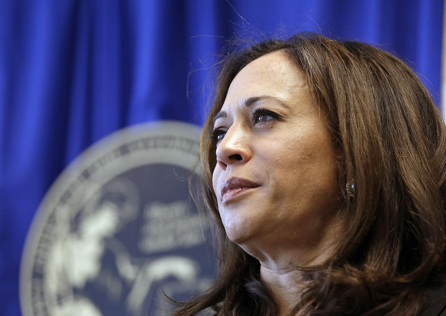 Democratic presidential candidate Kamala D. Harris has been on a tear since the first primary debate, where she confronted Joseph R. Biden over federally mandated busing to desegregate public schools. (Associated Press/File)