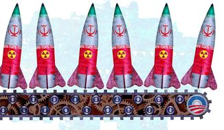 Iran Missile Factory Illustration by Greg Groesch/The Washington Times
