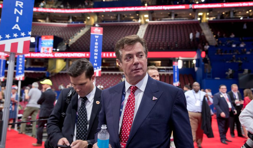 Republicans hoped that the campaign would operate in a more traditional manner with Paul Manafort at the helm given his experience with conventional campaigns. (Associated Press) ** FILE **