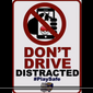 "Screen capture from a July 19, 2016 Baltimore Police Department video urging people to not play ""Pokemon Go"" while driving"