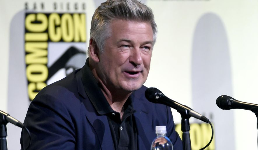 "Alec Baldwin attends ""The Boss Baby"" panel on day 1 of Comic-Con International on Thursday, July 21, 2016, in San Diego. (Photo by Chris Pizzello/Invision/AP)"