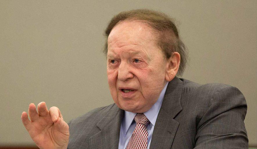 Sheldon Adelson. (Associated Press) ** FILE **