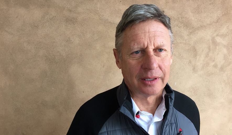 "Despite some minor snafus, Gary Johnson, Libertarian Party's presidential nominee, says he plans to keep doing his thing going forward, touting a recent single-day ""money comet"" haul. (Associated Press)"