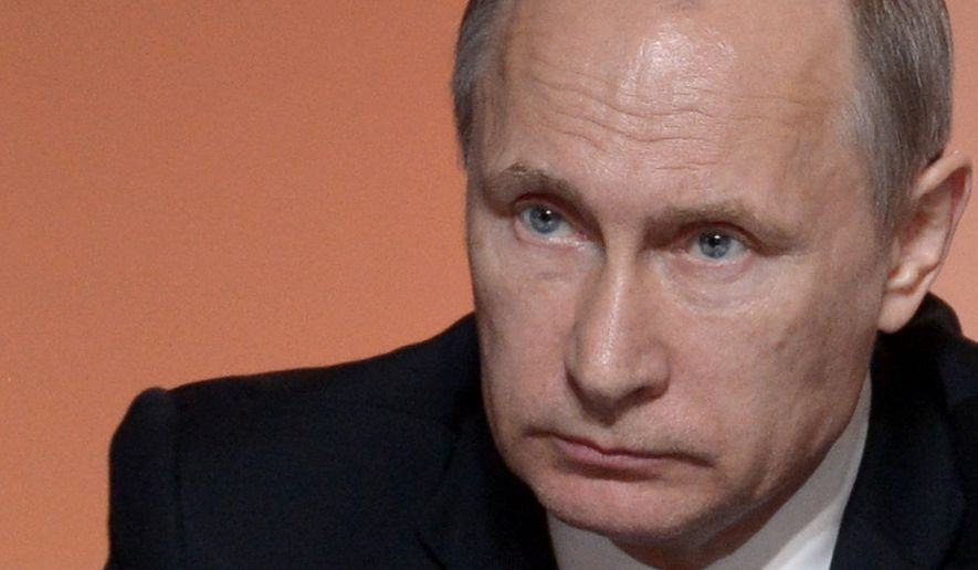 Russian President Vladimir Putin (Associated Press/File)