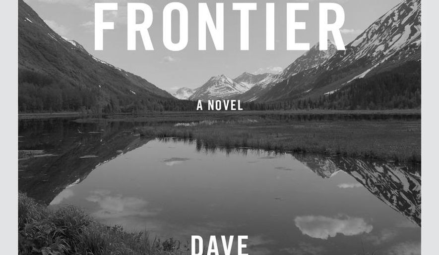 "This book cover image released by Knopf shows, ""Heroes of the Frontier,"" by Dave Eggers. (Knopf via AP)"