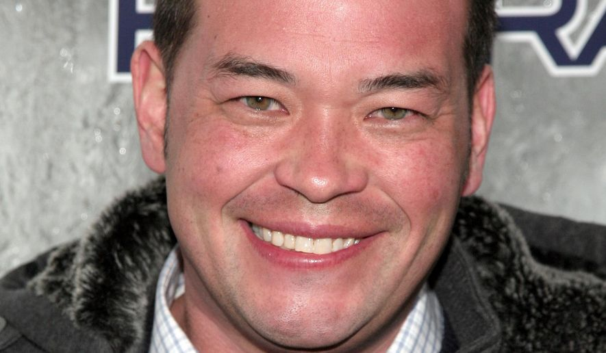 FILE - In this Jan. 31, 2014, file photo, television personality Jon Gosselin attends the Maxim Magazine Super Bowl Party in New York. Gosselin told a Dallas radio station on Wednesday, July 20, 2016, that he has been working as a cook at a Lancaster, Pa., T.G.I. Friday's restaurant. (Photo by Andy Kropa/Invision/AP, File)