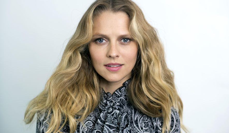 "In this July 18, 2016 photo, actress Teresa Palmer, star of the horror film, ""Lights Out,"" poses for a portrait in New York. (Photo by Scott Gries/Invision/AP)"