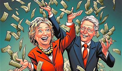 """Clinton Cash: The Untold Story of How and Why Foreign Governments and Businesses Helped Make Bill and Hillary Rich"" by Peter Schweizer has become ""Clinton Cash: The Graphic Novel."" (Regnery Publishing)"
