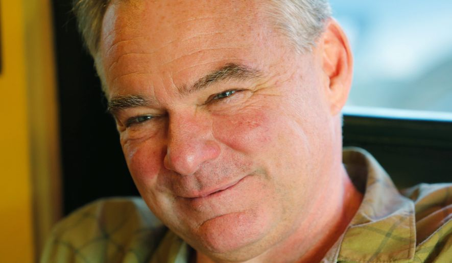 The gifts Sen. Tim Kaine took as governor and lieutenant governor of Virginia are getting scrutiny after his selection as Hillary Clinton's running mate. (Associated Press)