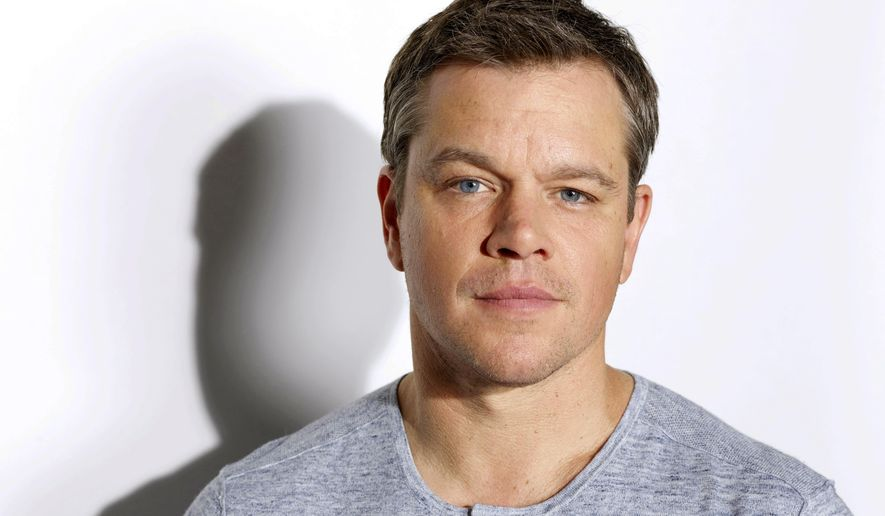 """In this July 25, 2016 photo, actor Matt Damon poses for a portrait in Los Angeles to promote his latest film, """"Jason Bourne."""" (Photo by Matt Sayles/Invision/AP)"""