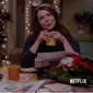 """Screen capture from """"Gilmore Girls: A Year in the Life"""" promotional video on YouTube. The series releases on Netflix on November 25, 2016. [https://www.youtube.com/watch?v=fTnU5MG5Edw]"""