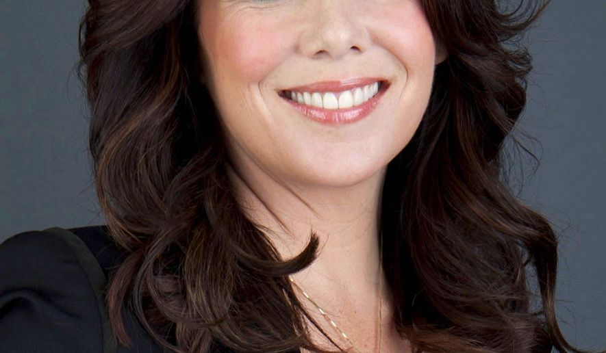 """FILE - In this April 30, 2013 file photo, actress Lauren Graham poses for a portrait in promotion of her new book, """"Someday, Someday, Maybe: A Novel,"""" in New York. Netflix says """"Gilmore Girls: A Year in the Life"""" will debut globally on Nov. 25, 2015, with the show's original stars, Lauren Graham, who plays Lorelai Gilmore and Bledel, who plays her daughter Rory. (Photo by Amy Sussman/Invision/AP, File)"""
