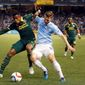 Former New York City FC striker and Maryland star Patrick Mullins is in line for more consistent playing time with the D.C. United since joining the team last week. (Associated Press)