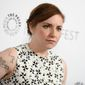 "Perhaps the most memorable line came from Lena Dunham, star of the TV show ""Girls,"" who announced that ""according to Donald Trump, my body is probably like a 2."" (Associated Press)"