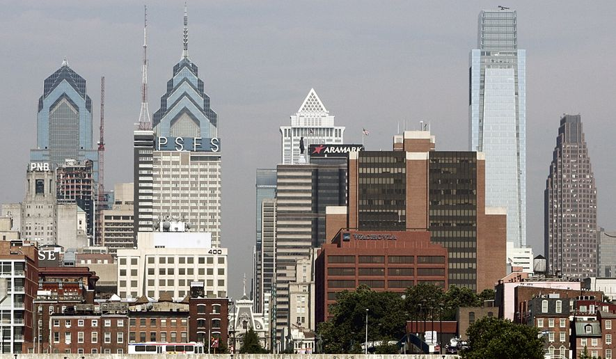 Philadelphia, the city that just hosted the Democratic National Convention, is in danger of losing millions of dollars in federal funding for breaking the law. (Associated Press)