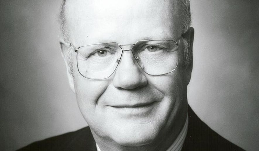 This undated handout photo provided by Mars Inc. shows Forrest Mars Jr., who helped shape Mars Inc. into a multi-billion dollar confectionary empire with beloved brands such as M&M's and Snickers bars. A company spokesperson said the retired Mars co-president died Tuesday, July 26, 2016, in Seattle of complications following a heart attack. He was living in Sheridan, Wyo., at the time of his death. He was 84. (Mars Inc. via AP)