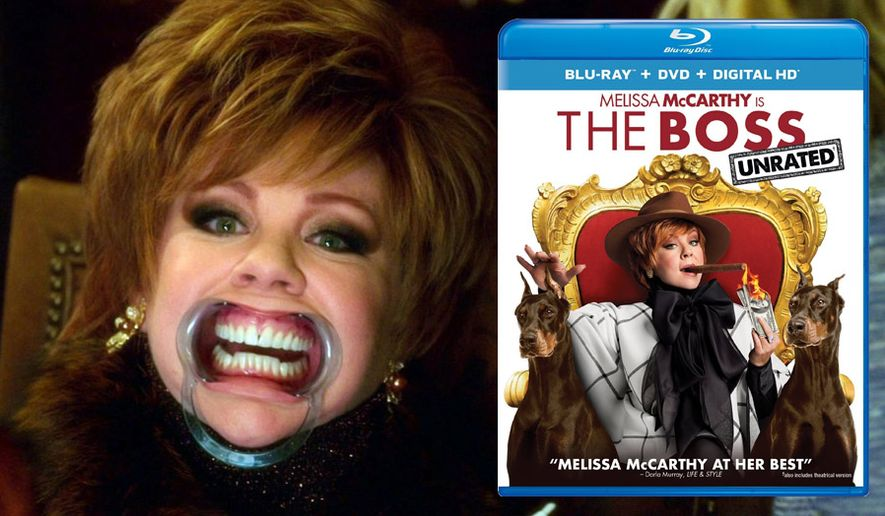 "Melissa McCarthy stars as Michelle Darnell in ""The Boss,"" available on Blu-ray from Universal Studios Home Entertainment."