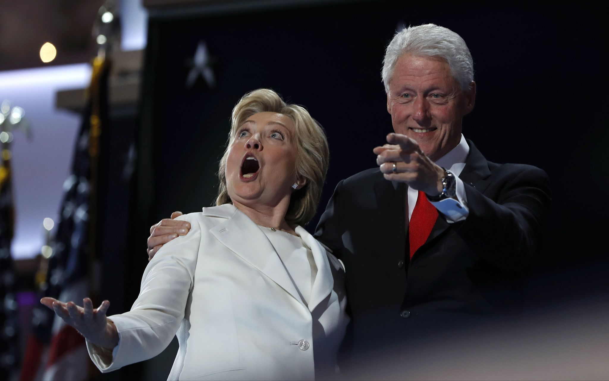Hillary Clinton donors still in shock over Trump win, hope to 'wake up' from nightmare